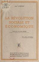 Omslag La révolution sociale et économique