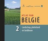 ATLAS VAN BELGIE 2 LANDSCHAP, PLATTELAND EN