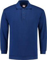 Tricorp Polo Sweater Boord  301005 Koningsblauw - Maat S