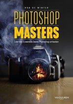 Boek cover Photoshop Masters van Rob de Winter