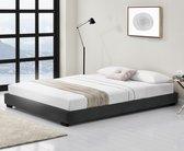 Corium Modern bedframe met bedbodem 140x200 cm zwart