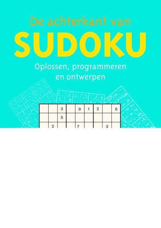 Afbeelding van De Achterkant Van Sudoku