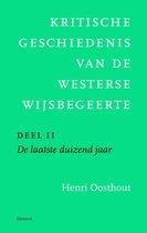 Kritische geschiedenis van de Westerse wijsbegeerte deel II. De laatste duizend jaar