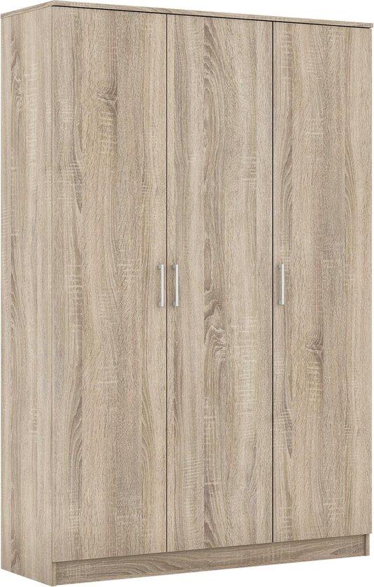 Rousseau - Kledingkast - 120 cm - Bruin