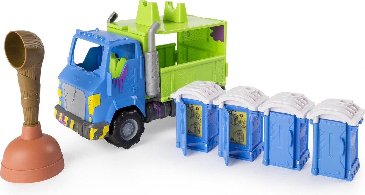 Flush Force Potty Wagon (2 Flushies) speelgoedvoertuig