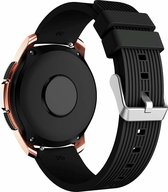 Garmin Vivoactive 3 siliconen bandje - zwart - 42mm