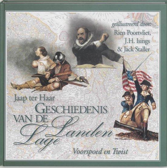 Boek cover Geschiedenis van de Lage Landen deel 3: voorspoed en twist van J. ter Haar (Hardcover)