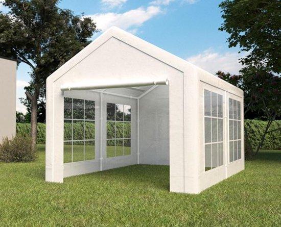 REKE Partytent - Semi professioneel - 3x4m - Wit -  Lizzely Garden & Living