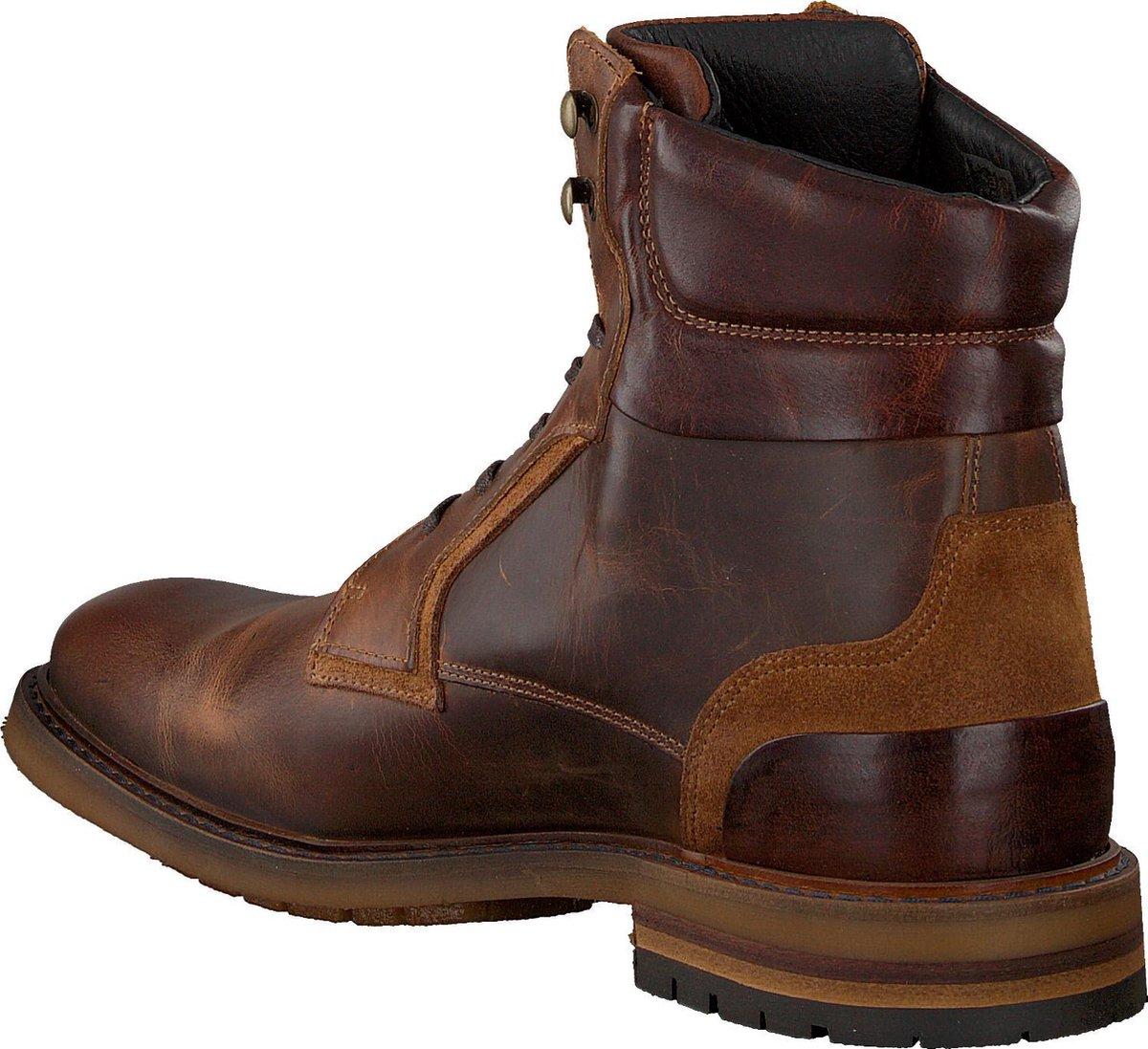 Mazzeltov Heren Veterboots J4997 - Bruin - Maat 42 Boots