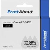 Huismerk Canon PG-545XL Inktcartridge Zwart Hoge c