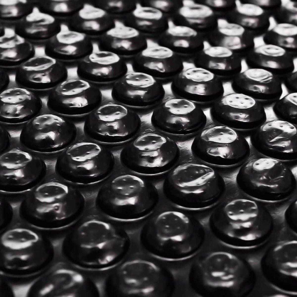 Zwembadhoes 381 cm PE zwart