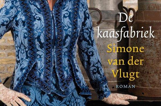Boek cover De kaasfabriek van Simone van der Vlugt (Onbekend)