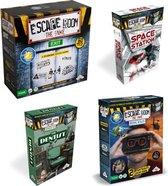 Mega Escape Room Spelvoordeelset inclusief Basisspel &Uitbreidingsset Escape Room The Game: VR & Uitbreidingsset Escape Room The Game Space Station & Uitbreidingsset Escape Room The Game The Dentist