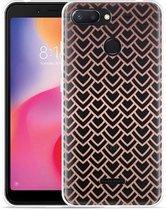 Xiaomi Redmi 6 Hoesje Pink Pattern