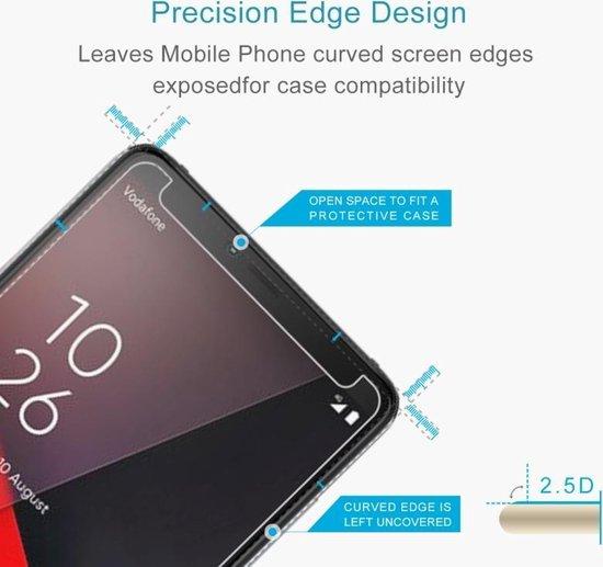 Let op type!! 100 stuks 0 26 mm 9H 2.5D explosieveilige getemperd glas Film voor Vodafone Smart X 9