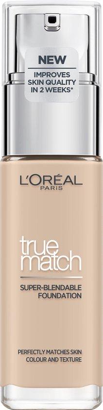 L'Oréal Paris True Match Foundation - R1/C1 Ivoire Rose  - Natuurlijk Dekkend