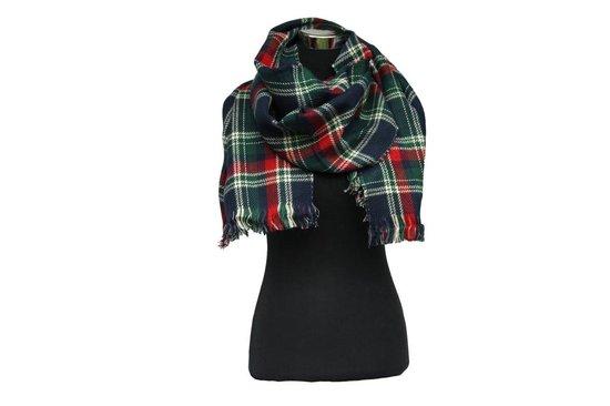 Dubbelzijdig geruite unisex sjaal - Scarfz