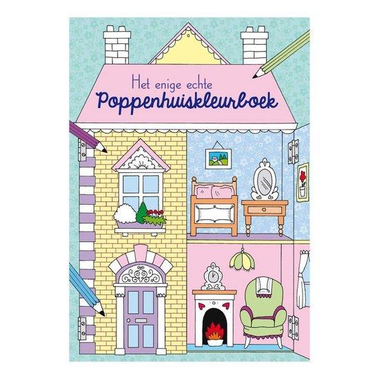 Het enige echte poppenhuiskleurboek - none | Readingchampions.org.uk