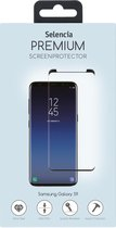 Selencia Gehard Glas Premium Screenprotector voor Samsung Galaxy S9 Plus - Zwart