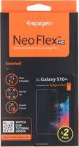 Spigen Neo Flex Screenprotector Duo Pack voor de Samsung Galaxy S10 Plus