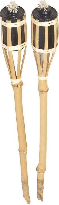 Tuinfakkel - 61 cm - Bamboe - 2 stuks