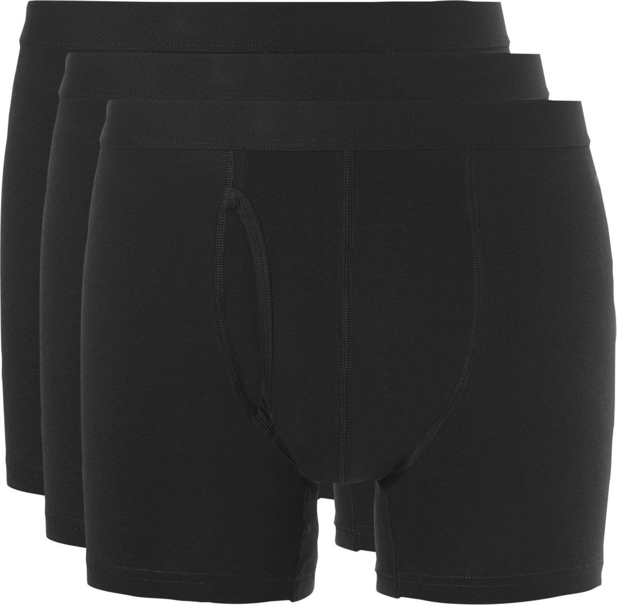Ten Cate Boxer 3Pack Basic Zwart - Maat L