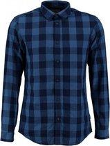Jack & jones stevig blauw slim fit overhemd - Maat S