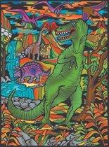 Dinosaurus T-Rex Colorvelvet
