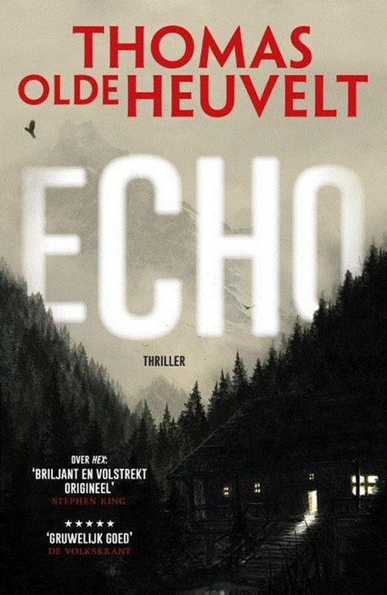 Boek cover Echo van Thomas Olde Heuvelt (Paperback)