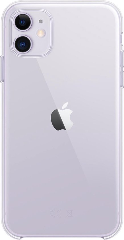 Apple Clear Case voor iPhone 11 - Transparant