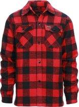 Longhorn houthakkers overhemd/jas Canada rood maat Large