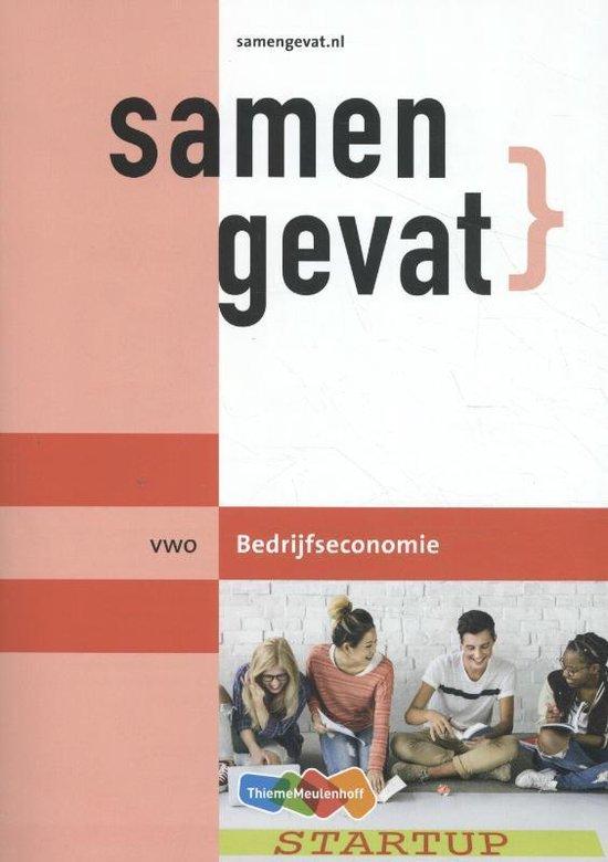 Samengevat vwo Bedrijfseconomie - A. Maurer |