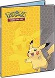 Pokémon Verzamelmap 4-pocket Pikachu - Pokémon Verzamelmap