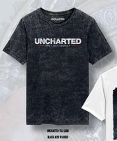 Uncharted - The Lost Legacy Logo Men T-Shirt - Heather Anthracite - L