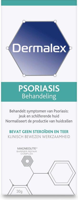 Dermalex Repair Psoriasis  Crème - voor de behandeling van symptomen van psoriasis - 30 gr