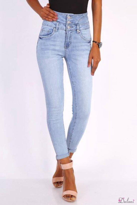 Wonderbaar bol.com   Broek Toxik3 met extra hoge taille light jeans 38 OV-25