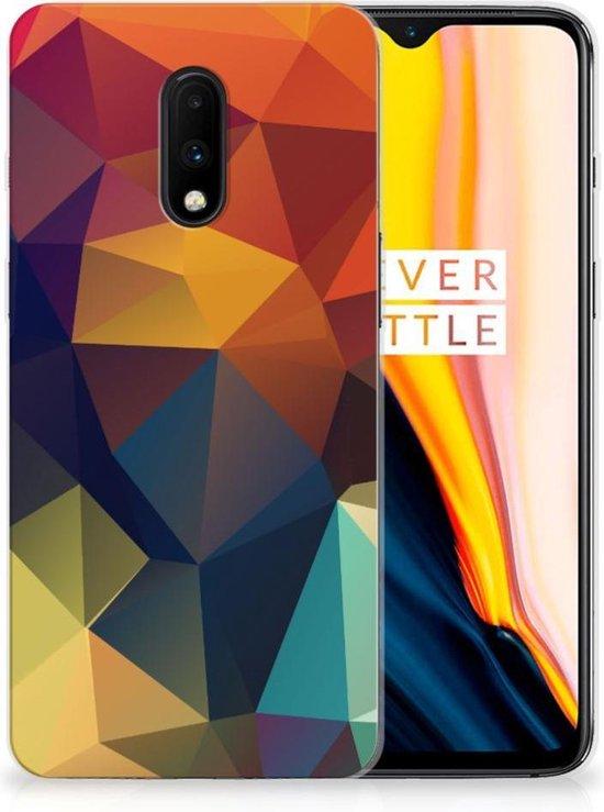 TPU Hoesje OnePlus 7 Polygon Color