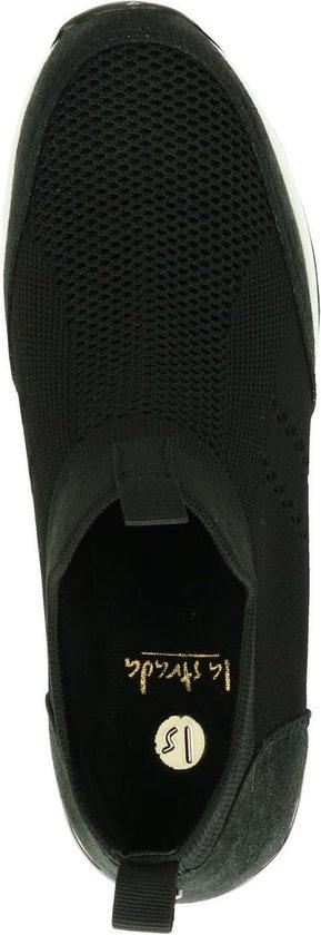 La Strada Dames Hoge Sneaker - Zwart Maat 40 HhqRyD