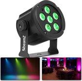 BeamZ SlimPar30 - Compacte LED spot voor sfeerlicht in zalen, op podia, clubs, etc.