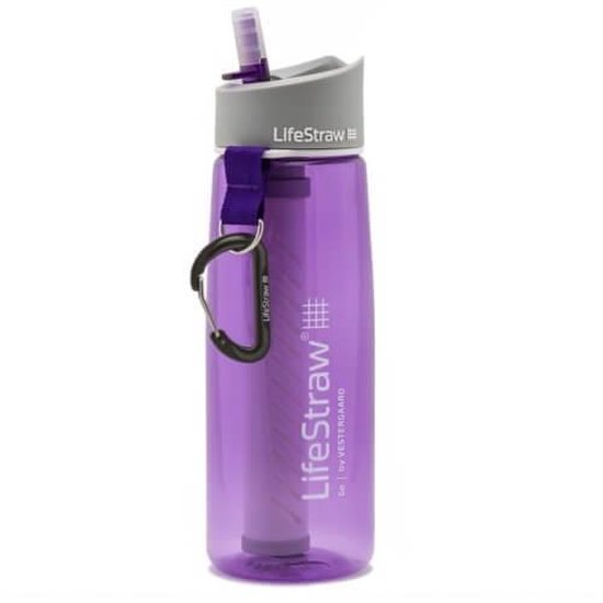 LifeStraw® waterfilterfles Go 2-stage filtration - paars