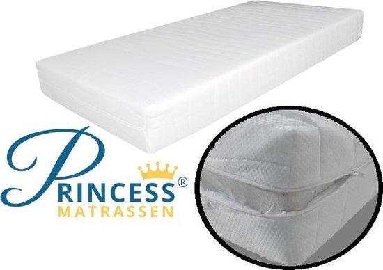 Comfort Medium HR40 Matras - Princessmatras -90x200x14-cm- - Princessmatrassen