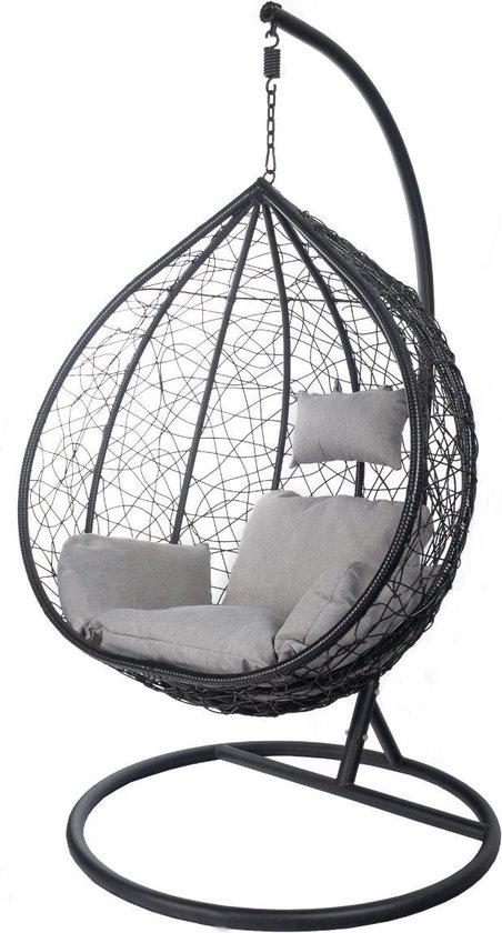 Hangstoel Zonder Frame.Bol Com Egg Hangstoel Hangover Zwart
