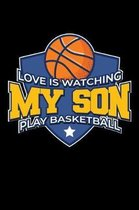 Love is Watching my Son play Basketball