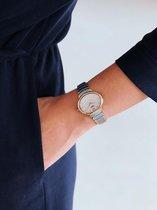 Boccia Titanium 3280.03 horloge - Titanium - Zilver en goudkleurig - Ø 30
