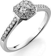 Orphelia RD-3915/54 - Ring - Goud 18 kt - Diamant 0.41 ct - 17.25 mm /  maat 54