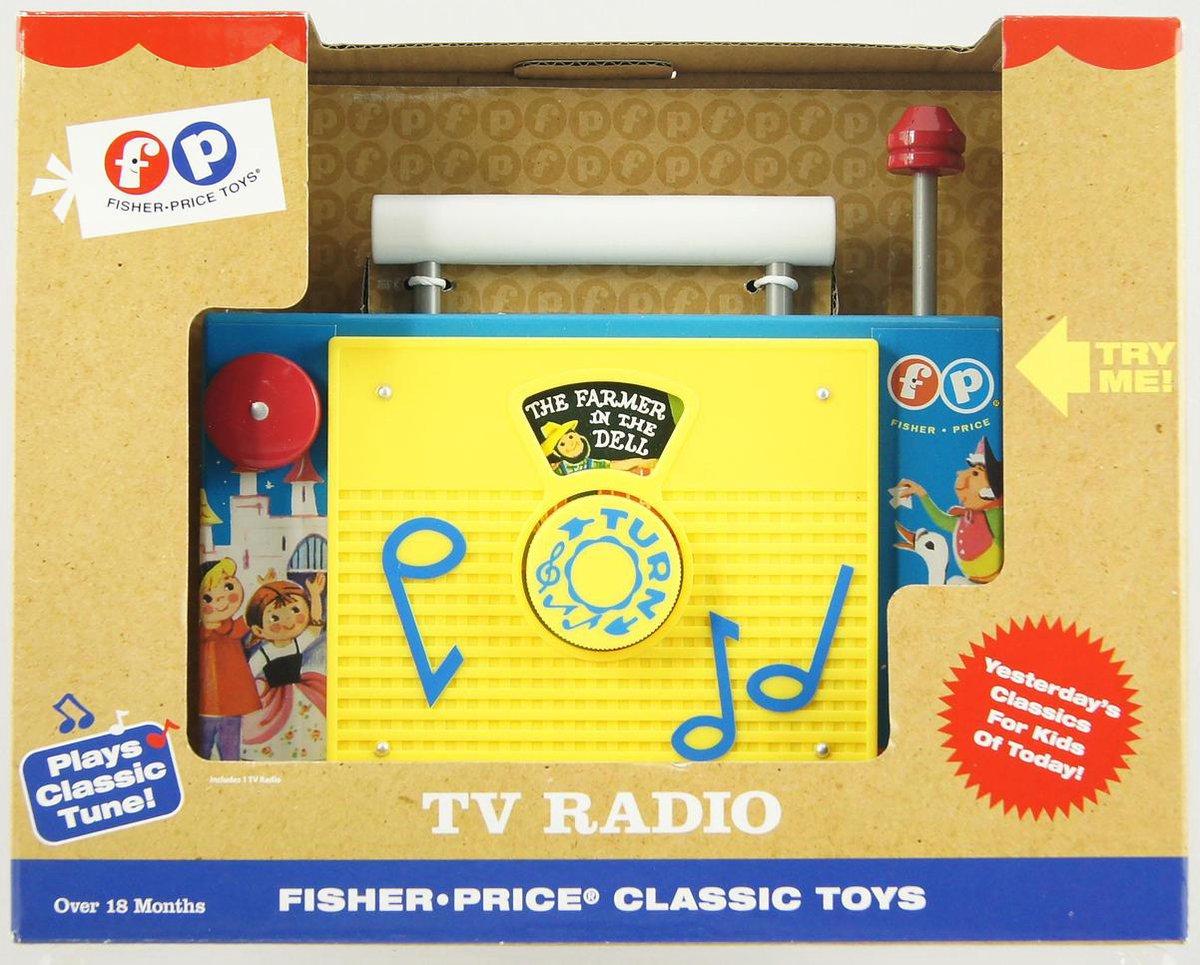 Fisher-Price Classic TV Radio