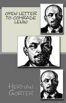 Open Letter to Comrade Lenin
