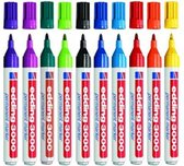 Edding 3000 permament markers assorti doos á 10 kleuren