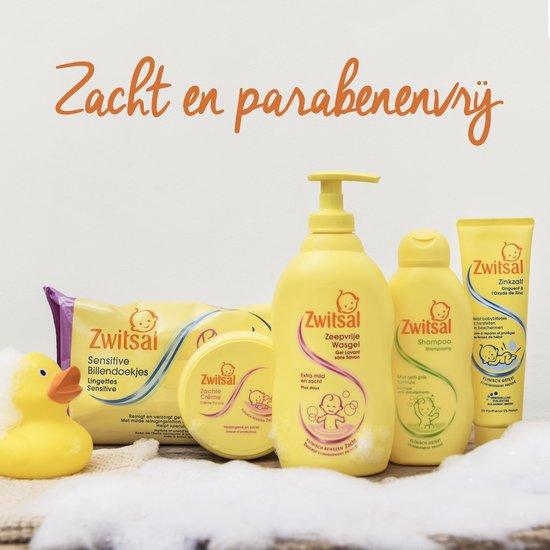 Zwitsal Zeepvrij Baby Badschuim - 4 x 400 ml - Voordeelverpakking