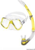 Mares Wahoo masker en snorkel - Geel